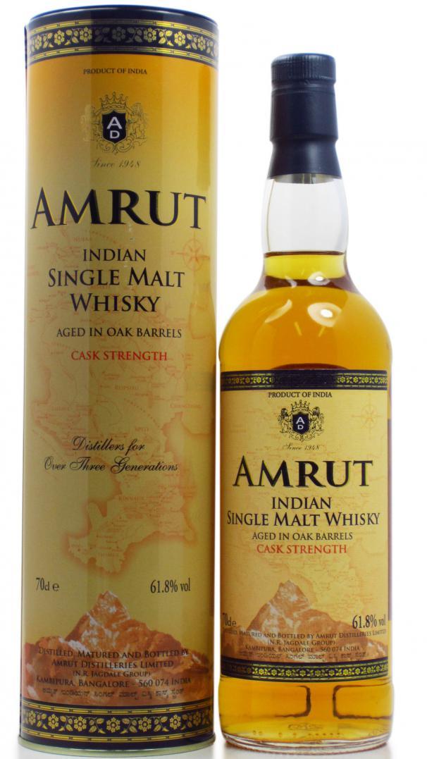Amrut Cask Strength Single Malt Whiskey Ratings And
