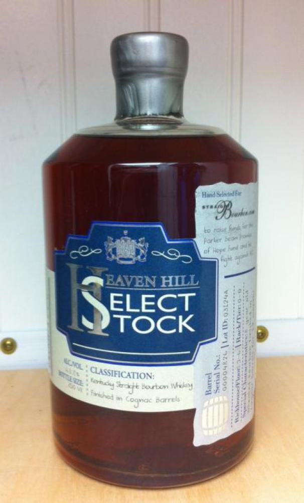 Heaven Hill Select Stock 44822 Ratings And Tasting Notes