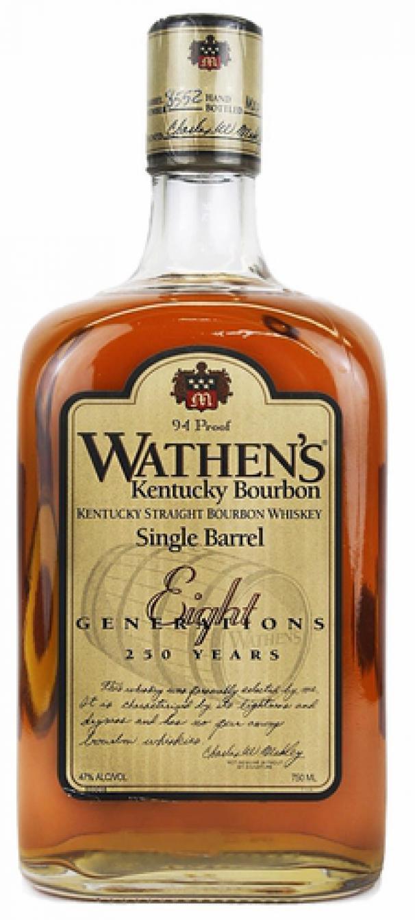 Wathens Single Barrel Kentucky Straight Bourbon Ratings